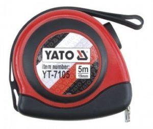 Zwijane YATO YT-7105 MIARA ZWIJANA 5Mx19MM MAGNES 5mx19mm