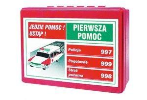 Akcesoria Samochodowe TOYA 83260 APTECZKA SAMOCHODOWA E-01 83260
