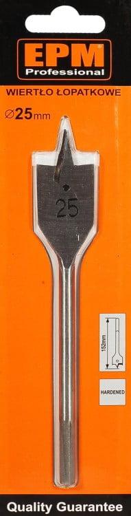 Łopatkowe EPM E-520-2515 WIERTŁO ŁOPATKOWE DO DREWNA 25/150MM 25/150mm
