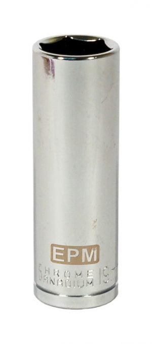 """Nasadki 6 Kąt. Długie 1/2"""" EPM E-400-1516 NASADKA DŁUGA 1/2"""" 6-KĄTNA CHROMOWANA 16MM 1,6mm"""