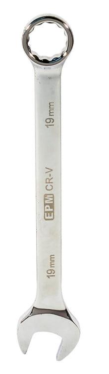 Płasko-Oczkowe EPM E-400-2012 KLUCZ PŁASKO-OCZKOWY POLEROWANY 12MM 12mm