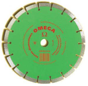 Segmentowe IN CORPORE TD-400 OMEGA TARCZA DIAMENTOWA SEGMENTOWA OMEGA 400MM 40,0mm