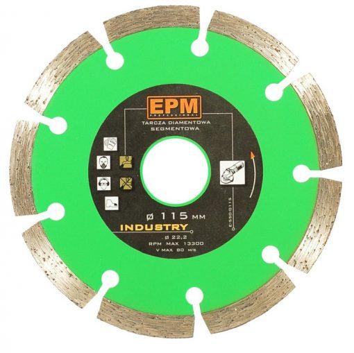 Segmentowe EPM E-550-0125 TARCZA DIAMENTOWA SEGMENTOWA 125MM 125mm