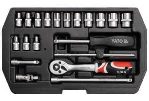 Zestawy YATO YT-1449 ZESTAW NARZĘDZIOWY 20CZ.1/4 20cz.1/4