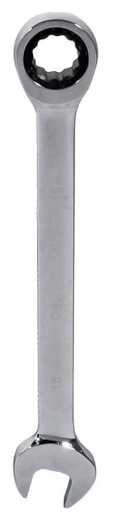 Płasko-Oczkowe z Grzechotką EPM E-400-2113 KLUCZ PŁASKO-OCZKOWY Z GRZECHOTKĄ CRV 13 e-400-2113
