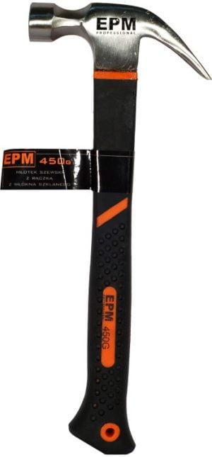 Z Trzonkiem z Włókna EPM E-420-3080 MŁOTEK STOLARSKI 450G RĄCZKA WŁÓKNO SZKLANE TPR 450g