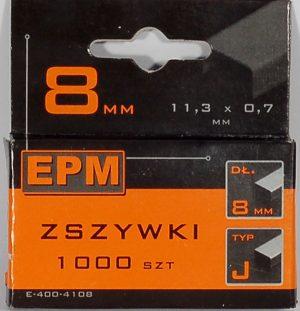 Zszywki EPM E-400-4106 ZSZYWKI 1000SZT 6MM J-006 1000szt