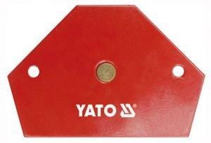Akcesoria YATO YT-0866 SPAWALNICZY KĄTOWNIK MAGNETYCZNY 64x95x14 64x95x14