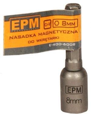Typ Nasadowy EPM E-400-6013 KOŃCÓWKA MAGNETYCZNA DO WKRĘTARKI 1/4 13x48MM 13x48mm