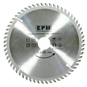 Ze Spiekiem EPM E-550-6206 PIŁA SPIEKOWA 200MM 60 ZĘBÓW 20,0mm