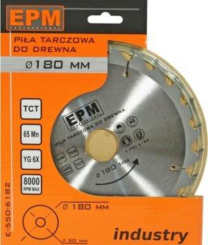 Ze Spiekiem EPM E-550-6162 PIŁA SPIEKOWA 160MM 24 ZĘBÓW 160mm