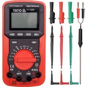Pomiarowe YATO YT-73086 MIERNIK CYFROWY KOLEJNOŚĆ FAZ cyfrowy