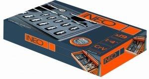 "Akcesoria NEO TOOLS N84-273 KLUCZE NASADOWE 1/4"" NASADKI 13 SZTUK+AKCESORIA 1/4"""