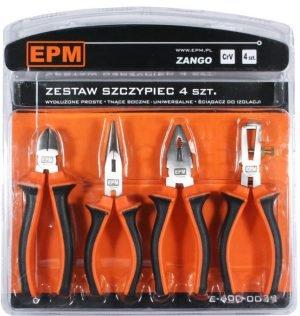 Zestawy EPM E-400-0039 ZESTAW SZCZYPIEC 4 SZTUKI 160MM CRV ZANGO 160mm