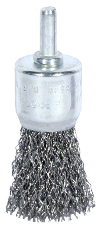 Pędzelkowe EPM E-561-6024 SZCZOTKA PĘDZELKOWA Z TRZPIENIEM 24MM ZN 2,4mm