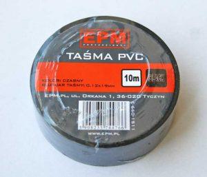 Taśmy Izolacyjne EPM E-660-1511 TAŚMA IZOLACYJNA 19MMx10M CZARNA 19mmx10m