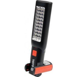 230v YATO YT-08505 LAMPA WARSZTATOWA 30+7 LED 230v