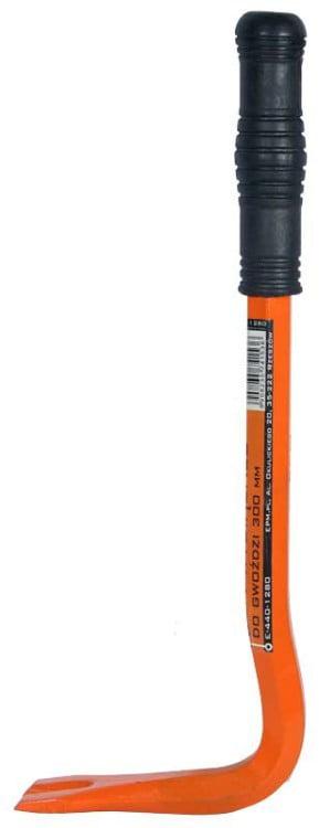 Łom Wygięty EPM E-440-1280 ŁOM WYCIĄGACZ DO GWOŹDZI 14MMx300MM 14mmx300mm
