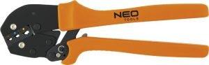 Elektrotechniczne NEO TOOLS N01-503 SZCZYPCE DO ZACISKANIA KOŃCÓWEK KONEKTOROWYCH 250MM 250mm,