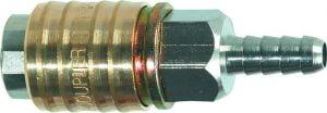 Złącza NEO TOOLS N12-621 SZYBKOZŁĄCZKA DO KOMPRESORA Z WYJŚCIEM NA WĄŻ 8MM kompresora