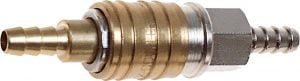 Złącza NEO TOOLS N12-632 KOMPLET SZYBKOZŁĄCZKA DO KOMPRESORA Z KOŃCÓWKĄ NA WĄŻ 10MM 10mm
