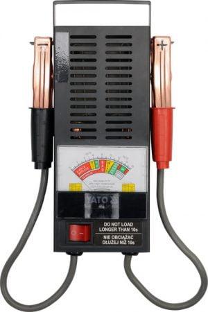 Bez Rozruchu YATO YT-8311 TESTER AKUMULATRORÓW 12V CYFROWY akumulatrorÓw