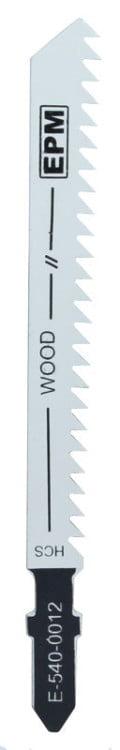 Do Drewna EPM E-540-0012 BRZESZCZOT DO WYRZYNARKI 74MM 8TPI DREWNO T111C 5 SZTUK 7,4mm