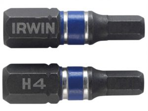 Krótkie IRWIN I-1923346 GROT UDAROWY JEDNOSTRONNY 25MM 2 SZT. HEX5 2,5mm
