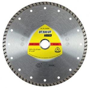 Turbo KLINGSPOR TD230 325356 TARCZA DIAMENTOWA TURBO DT300UT 230MM 325356 230mm
