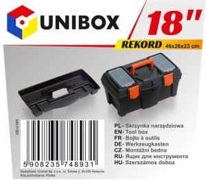 """Narzędziowe UNIBOX UB-U18R SKRZYNKA NARZĘDZIOWA REKORD 18"""" 18"""""""