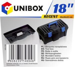 """Narzędziowe UNIBOX UB-U18S SKRZYNKA NARZĘDZIOWA REGENT 18"""" 18"""""""