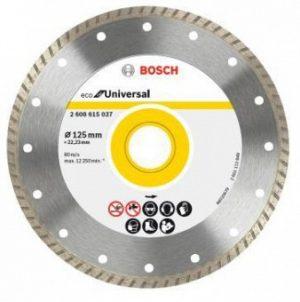 Turbo BOSCH 2608615037 TARCZA DIAMENTOWA BUDOWLANA ECO TURBO 125MM 125mm