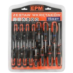 Z Bitami EPM E-400-0395 ZESTAW WKRĘTAKÓW 15 SZTUK bitami