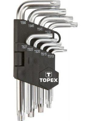 Komplety TOPEX T 35D950 KLUCZE PIĘCIOKĄTNE TS10-50 ZESTAW 9SZT 35d950