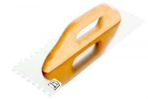 Uchwyt Drewniany EPM E-323-6382 PACA NIERDZEWNA ZĘBATA UCHWYT DREWNIANY 380x130MM ZĄB 6×6 380x130mm