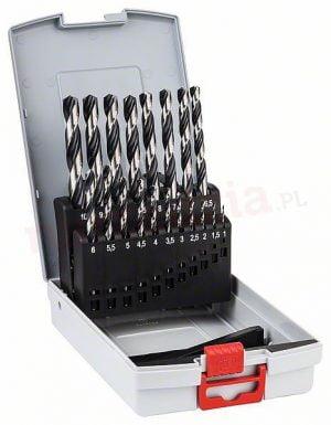 Komplety BOSCH 2608577351 ZESTAW WIERTEŁ 19 SZT. POINTTEQ DO METALU 1-10MM. 1-10mm