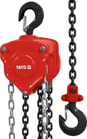 Łańcuchowe YATO YT-58951 WCIĄGNIK ŁAŃCUCHOWY 1.0T 1.0t