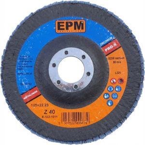 Talerzowe EPM E-552-1014 LAMELKA CYRKONOWA EPM PRO-X GRANULACJA 120 125MM 125mm