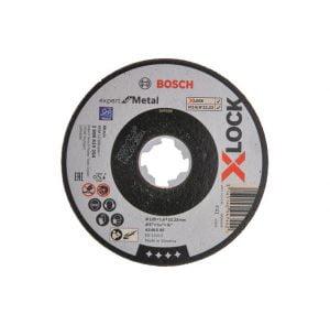 Dyski BOSCH 2608619254 TARCZA SZLIFIERSKA X-LOCK EXPERT FOR METAL 125×1.6×22.23 125×1.6×22.23