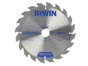 Akcesoria IRWIN I-1897207 PIŁA SPIEKOWA DO DREWNA 235x30MM/20T 235x30mm/20t