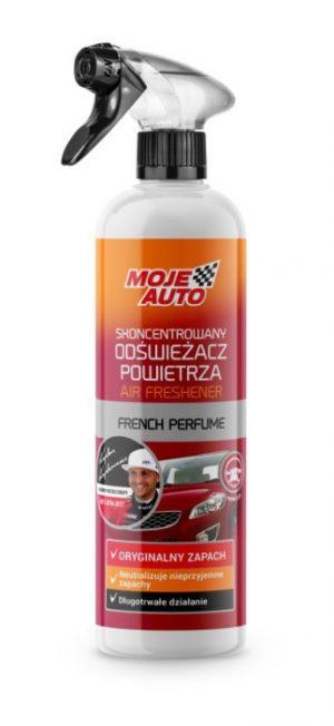 Zapachy Samochodowe MOJE AUTO 19-604 SKONCENTROWANY ODŚWIEŻACZ POWIETRZA NEW CAR 500ML -ATOMIZER (500ml,