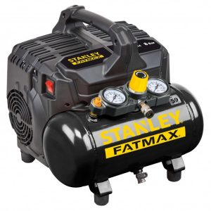 Kompresor Bezolejowy 6L 8bar Wyciszony Fatmax