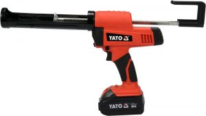 Pistolety Do Klejenia YATO YT-82888 PISTOLET DO SILIKONU I KLEJU 18V 1×4.0Ah ŁADOWARKA 1×4.0ah