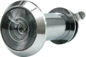 Wizjery TOYA W-77921 Wizjer Drzwiowy Z Klapką 35-50mm Srebny 200 35/50mm