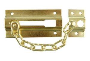 Pozostałe TOYA W-77910 Łańcuch Do Drzwi Chromowany chromowany