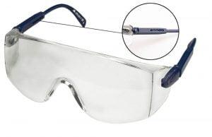 Ochrona oczu TOPEX T 82S110 OKULARY OCHRONNE REGULOWANE ZAUSZNIKI 82s110