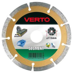 Segmentowe VERTO 61H3S1 TARCZA DIAMENTOWA SEGMENTOWA 115MM 11,5mm