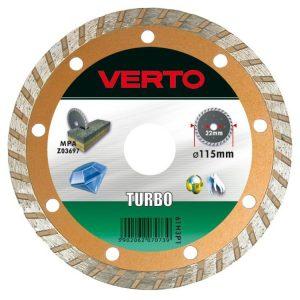 Turbo VERTO 61H3P8 TARCZA DIAMENTOWA TURBO 180MM 1,80mm
