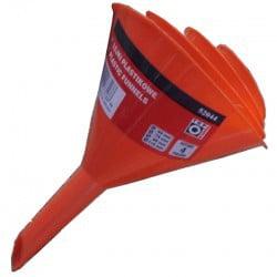 Lejki TOPEX T 77P530 LEJKI PLASTIKOWE 4 SZT 50/75/95/115 50/75/95/115