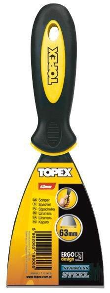 Nierdzewne TOPEX T 18B605 SZPACHLKA MALARSKA NIERDZEWNA 50MM 18b605